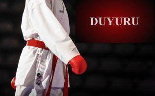 Karate Duyuru