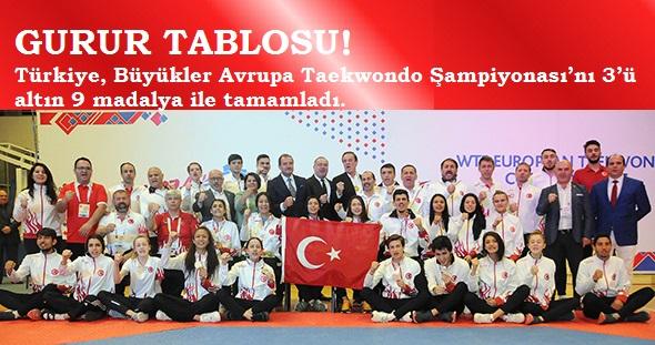 Avrupa Taekwondo Turkiye Zafer