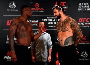 Ovince Saint Preux Tyson Pedro UFC maç önü
