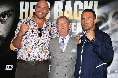 Tyson Fury Sefer 1