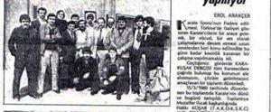 Karakusak Fedarasyonu Icin Toplanti 1980