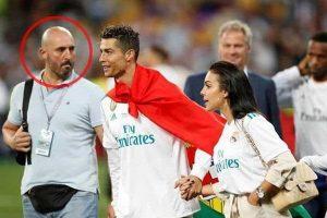 Marecos (solda), Cristiano Ronaldo ve kız arkaşı