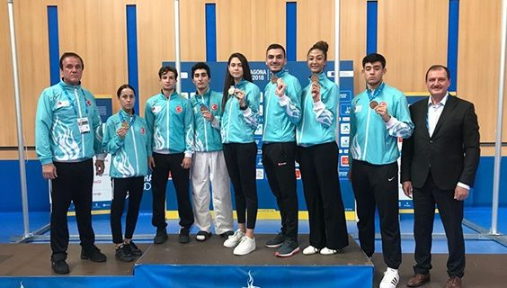 Taekwondo Akdeniz 6 Madalya