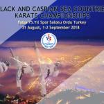 Karadeniz ve Hazar Ülkeleri Karate Şampiyonası Ordu'da,