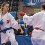 Karate 1 Premier Lig'in Berlin'deki 6. ayağında kota Sınavı, 2. Altın, 2. Bronz