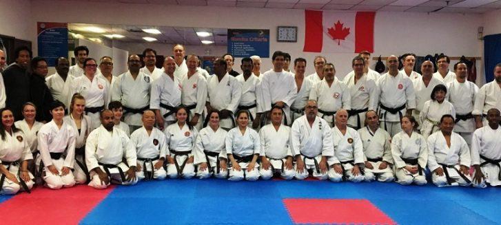 Kanada Karate Seminer