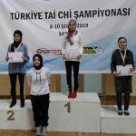 Türkiye Tai Chi Şampiyonası Nefes Kesti