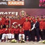 Karate 1 Premier Lig'in Üçüncü Etabında Zirve Kırmızı-Beyaz