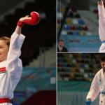 Karate 1 Premier Lig'in Şangay Etabında 2 Altın 1 Bronz Madalya