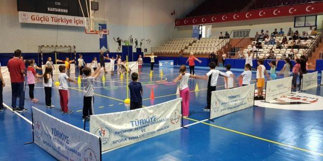 Turkiye Sportif Yetenek Taramasi Ve Spora Yonlendirme Projesi