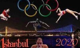 Olimpiyat ateşi İstanbul'da, Karate ve Wushu tatamide!