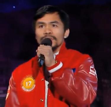 Manny Pacquiao Alkış Aldı!