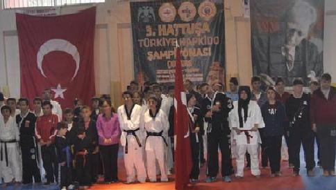 3. Hattuşa Hapkido Şampiyonası Çorum'da gerçekleşti