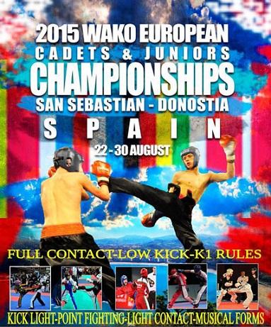 Gençler Avrupa Kick Boks Şampiyonası İspanya'da Yapılacak