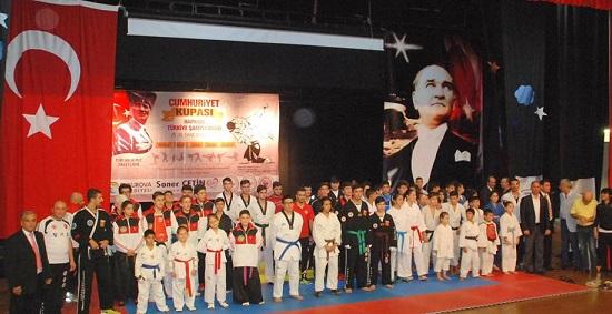 Hapkido Türkiye Şampiyonası Adana'da yapıldı