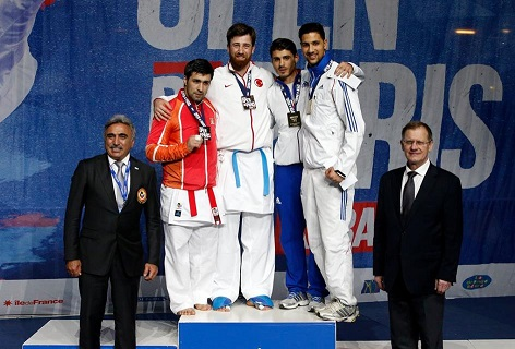 Karate 1 Premier League Paris Open'da 7 Madalya