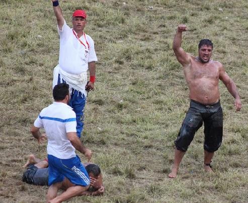 Kırkpınar Yağlı Güreşleri Başpehlivanı Ordu Ünyeli Recep Kara oldu