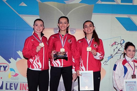Bayan Katacılar Balkan Şampiyonu