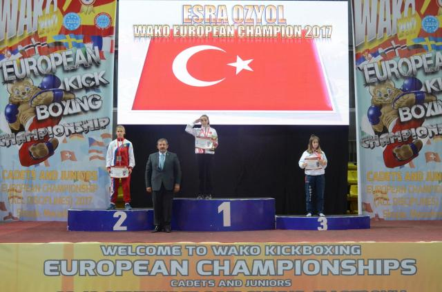 Gençler Avrupa Kick Boks'da Madalya Yağmuru