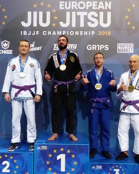 Murat Efendi'den Jiu Jitsu'da Altın Madalya…