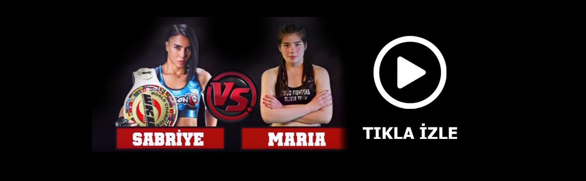 Sabriye Şengül vs. Maria Karaoulani karşılaşması