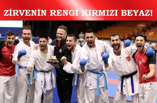 Büyükler Erkek Kumite Milli Takımı, Avrupa Şampiyonu…