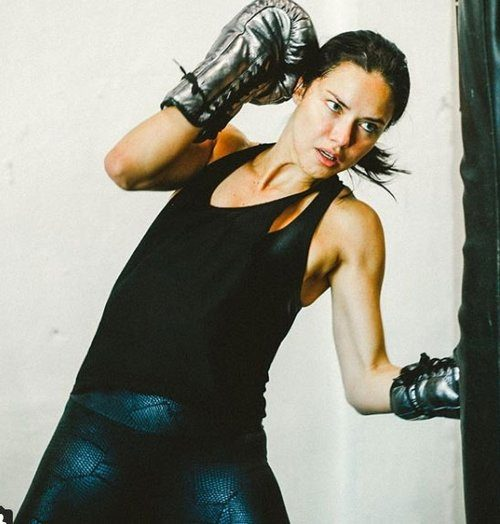 Adriana Lima Boks Yapıyor, İnstagram'dan Paylaştı