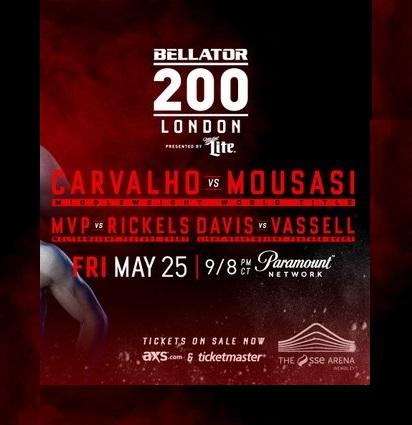Bellator 200 Bu Gece Londra'da Gerçekleşecek