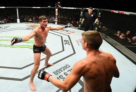 UFC Fight Night 130 rüzgarı 27 Mayıs pazar Liverpool'da esti!