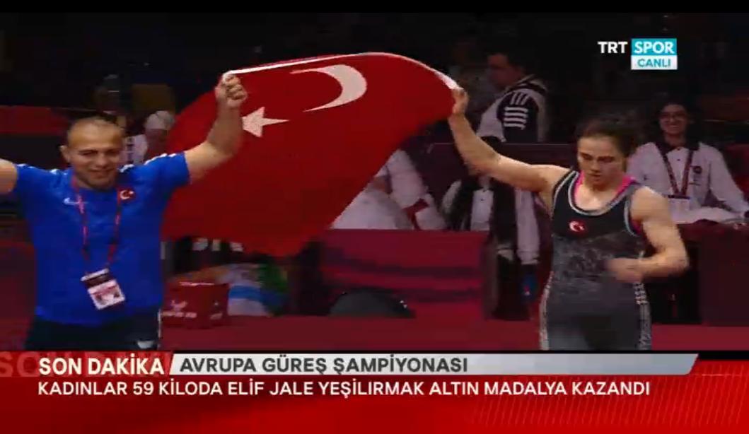 Elif Jale Yeşilırmak Avrupa şampiyonu