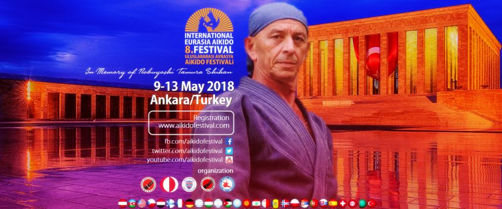 8. Uluslararası Aikido Festivali Ankara'da
