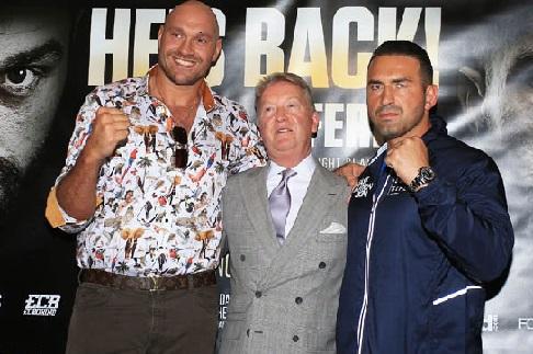 Tyson Fury, Manchester'da Ringe Çıkıyor. Rakibi Sefer Seferi!