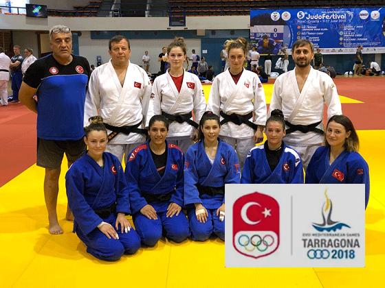 Judo Büyük Bayan Millilerimizin Akdeniz Hazırlıkları Devam Ediyor