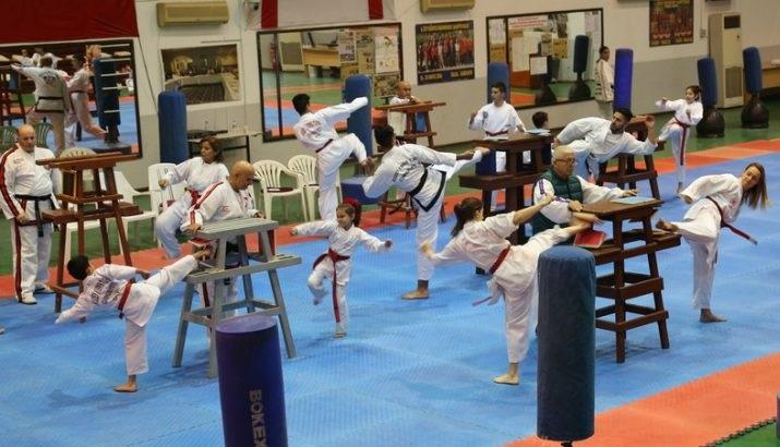 Kırış Müsabakaları Girne'de Avrasya Taekwondo Merkezi'nde Yapıldı