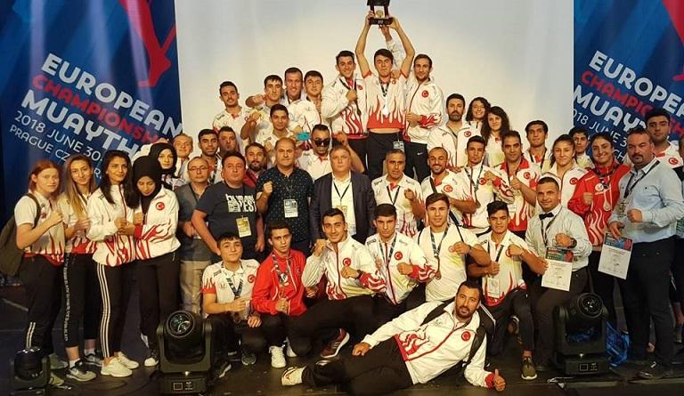 Avrupa Muaythai Şampiyonası'nda 'Çek' Değil Madalya!