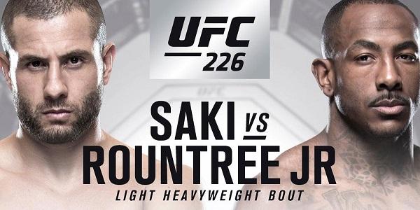 Gökhan Saki, UFC 226 Kartında, Khalil Rountree Jr. ile Karşılaşacak!