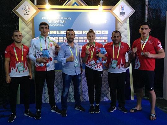 """FISU Üniversite Sporları Muaythai Şampiyonası Sona Erdi; """"Tarih yaz bizi!"""""""