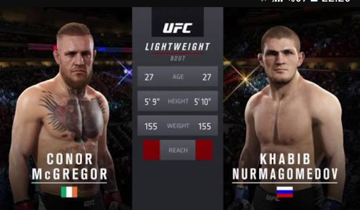 UFC 229'da Dev Maç: Nurmagomedov vs. McGregor