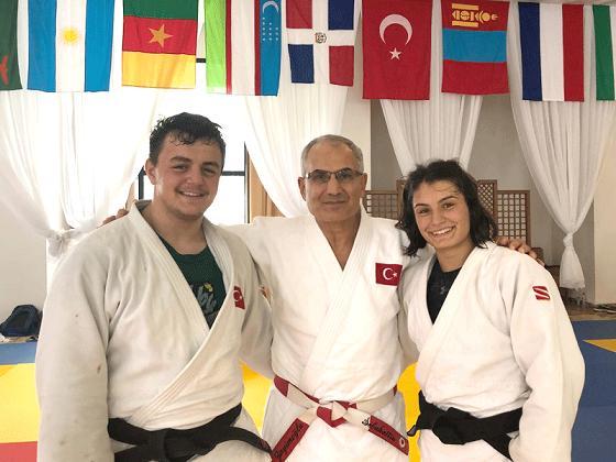 IJF Tarafından Tunus'ta Açılan Kampa İki Judokamız Katıldı
