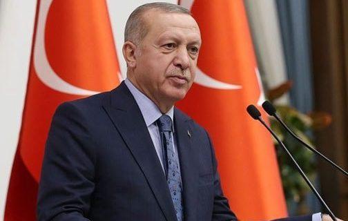 Cumhurbaskani Erdogan Irem Yaman Kutladi