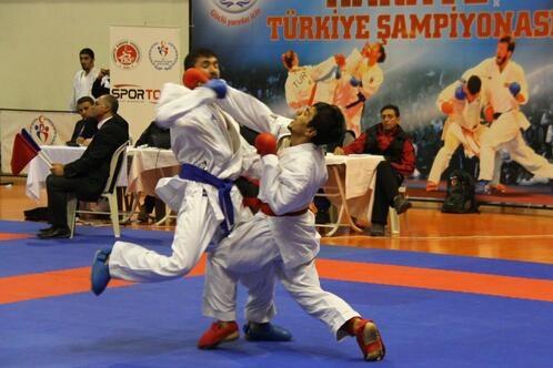 Ümit, Genç, 21 Yaş Altı Türkiye Karate Şampiyonası, Gaziantep'te Yapılacak