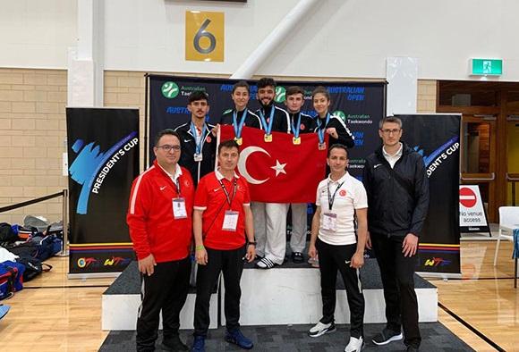 Para-Taekwondo Milli Takımı, Okyanusya Şampiyonu