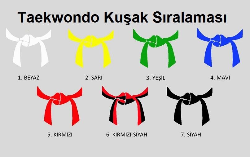 Taekwondo Kusak