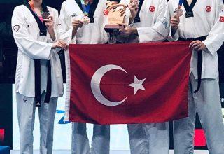 Taekwondo Dünya Takımlar Şampiyonası'nda Bronz Madalya