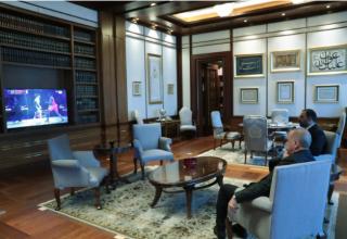 Cumhurbaşkanı Recep Tayyip Erdoğan Müsabayı Büyük Bir Heyecanla Takip Etti