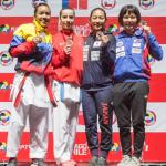 Karate 1 A Serisi'nin Santiago Etabında Altın Yağmuru