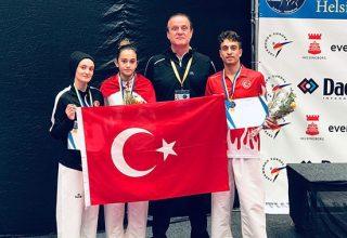 Avrupa Ümitler Taekwondo Şampiyonası'na Gümüşle Başladık!