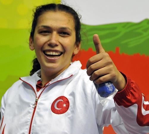 """Avrupa Şampiyonu Elif Güneri, """"Hep İstiklal Marşı hedefim var."""""""