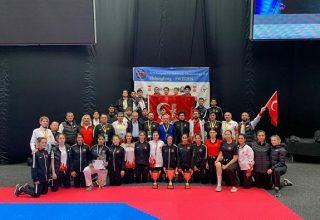 Türkiye, Avrupa Ümitler Taekwondo Şampiyonası'nda 12 madalya İle Genel Klasmanda 2 Oldu