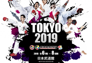 Karate-1 Premier League, Tokyo Etabı Efsanevi Tokyo Nippon-Budokan'da Başlıyor…